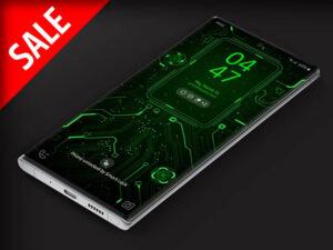 X9 Circuit Green 1 – Video Wallpaper