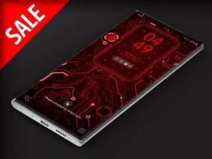 X9  Circuit Red 1 – Video Wallpaper