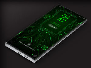 X9 Circuit Green 1 – Video Wallpaper