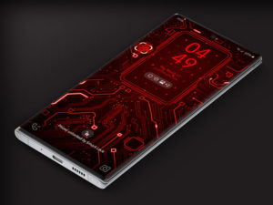 X9  Circuit Red 1 – Video Wallpaper