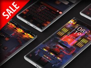 Samsung Theme: X9 Gaming PC – RGB Lava