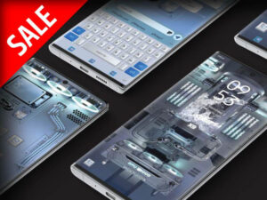 Samsung Theme: X9 Gaming PC – RGB Ice Age