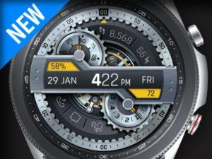 X9 40Zr – Galaxy Watch Face