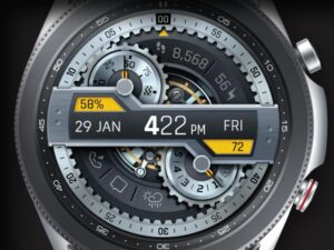 X9 40Zr – Galaxy Watch Face