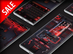 Samsung Theme: X9 Gaming PC – RGB Black Widow