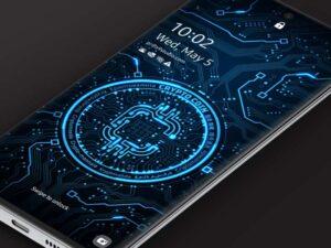Samsung Video Wallpaper: X9 Crypto Coin 1 – Blue