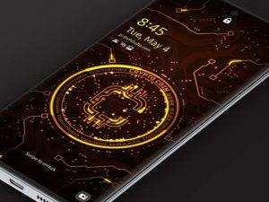 Samsung Video Wallpaper: X9 Crypto Coin 1 – Gold