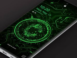 Samsung Video Wallpaper: X9 Crypto Coin 1 – Green