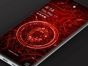 Samsung Video Wallpaper: X9 Crypto Coin 1 – Red