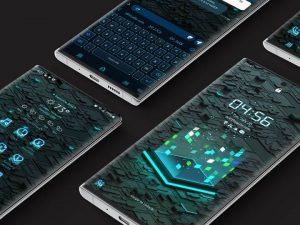 Samsung Theme: X9 Data A – Blue
