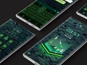 Samsung Theme: X9 Data A – Green